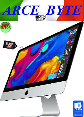 "APPLE IMAC 27"" SLIM RETINA 2K INTEL CORE i5 FATTURABILE 1TB 8GB MOJAVE GRADO A-"