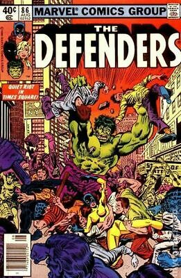 Defenders (1st Series) #86 1980 VG 4.0 Stock Image Low Grade