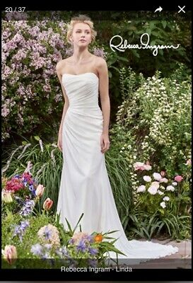 7a2cf5e5d5ee2 Rebecca Ingram - Maggie Sottero Wedding Dress  Linda  Size 10