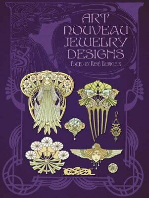 Dover Pictorial Archive: Art Nouveau Jewelry Designs