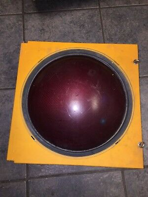 Eagle Traffic Light 12 Inch Red Lens Reflector Gasket And Door