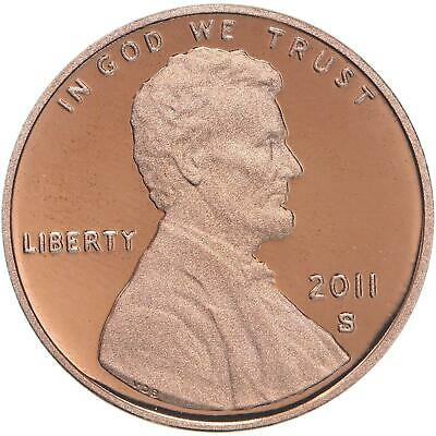 2011 S Lincoln Shield Cent Gem Deep Cameo Proof Penny