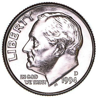 2004 D Roosevelt Uncirculated Dime ~ Raw Coin from Bank Roll
