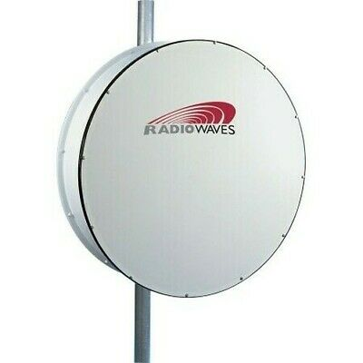 Radio Waves 17.7-19.7ghz 38.6dbi 0.6 M Parabolique Rondelle Rect-Remec