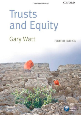 Trusts and Equity, Watt, Gary, Good Condition Book, ISBN 0199573174
