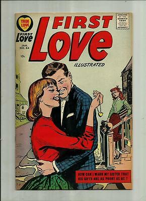 First Love Illustrated #84  1958 Harvey Silver Age Romance Comic Book