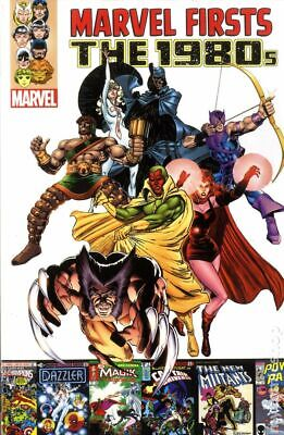 Marvel Firsts The 1980s TPB (Marvel) #1-1ST 2013 NM Stock Image