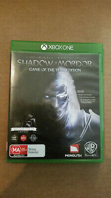 MIDDLE-EARTH: SHADOW OF MORDOR - GAME OF THE YEAR EDITION GOTY - Xbox One Used