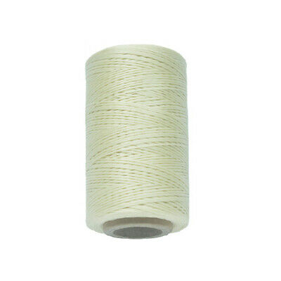 260M 150D 0.8mm Leather Sewing Flat Waxed Thread Wax String Hand Stitching