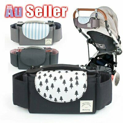 Baby Pram Bottle Holder Stroller Pushchair Buggy Storage Organiser Cup Mummy  %N