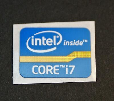 10 Pcs Intel Core I7 inside 21mmx16 Sticker Label Logo Case Badge