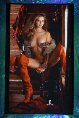 1980 Playboy Magazine Rare Sandy Cagle Collector Promo Poster 22X36 OOP NEW 80SC