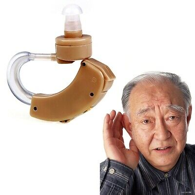 Cyber Sonic Hearing Aid Sound Amplifier Volume Adjustable Behind The Ear M2S3