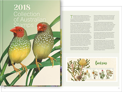 Brand New 2018 Collection of Australian Stamps *Free Express Shipping*