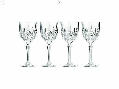 Marquis by Waterford Markham all Purpose Wine/Goblet Set of 4 NEW