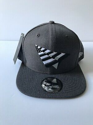 Roc Nation Charcoal Gray 59Fifty Crown Paper Planes Snapback Jay-Z Hat One  Size 6b2cae45de43