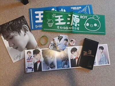 TFBOYS Roy Wang 王源 Collection (Autograph, Postcards, Banners, Photocards, etc.)