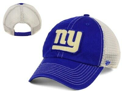 82a55c92aac96 New NWT New York Giants NFL  47 Brand Canyon Clean Up Mesh Snapback Cap Hat