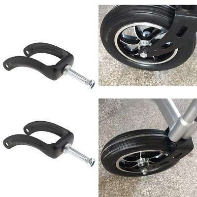 4pcs Universal 8'' Wheelchair Front Fork for Fixing Wheel Gear Accesories