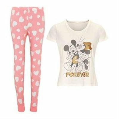 NEW LADIES AVON Disney Beauty Belle And The Beast Pyjamas Summer ... 3aa1defae