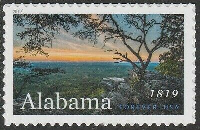US 5360 Statehood Alabama forever single (1 stamp) MNH 2019