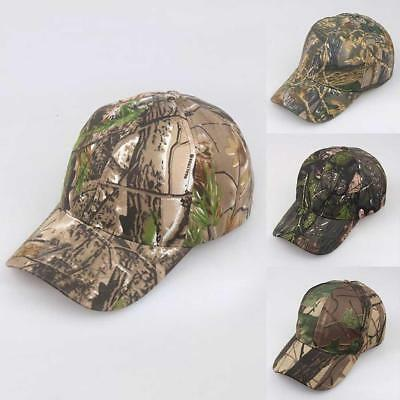 3adde48ce24 Mens Camouflage Military Adjustable Hat Camo Hunting Fishing Army Baseball  Cap