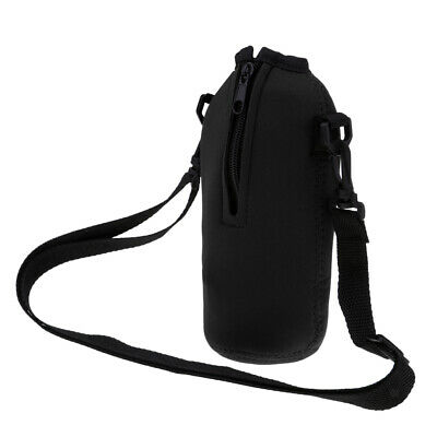 Water Bottle Carrier Insulated Water Bottle Holder Bag Pouch Cover 750ML
