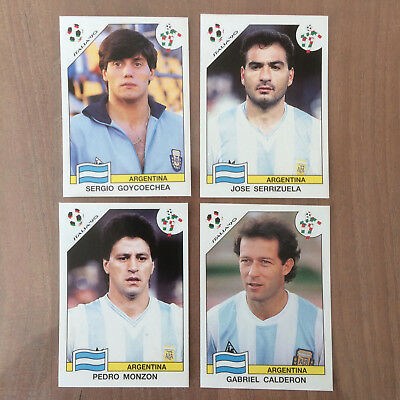 Extra Stickers Argentina Wc Italia 1990 Album Panini World Cup Story