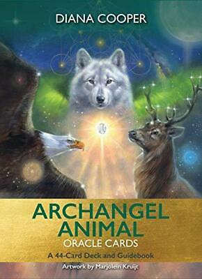 NEW > Archangel Animal Oracle Cards 44-Card Deck & Guidebook  Diana Cooper