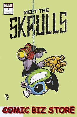 Meet The Skrulls #1 (Of 5) (2019) 1St Printing Skottie Young Baby Variant Cover