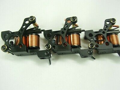 Tattoo machines, micro carbon pro set of 3,liner-shader-colourer ready set up