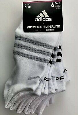Men's Clothing Socks Adidas White 3-pairs Shoe Sz 6-12 Men Casual No Show Socks Sale C05
