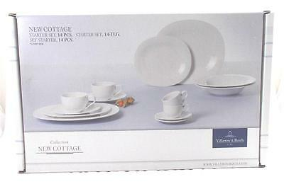 Villeroy & and Boch NEW COTTAGE starter set - 14 pieces - NEW BOXED