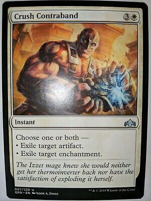 4X NM Crush Contraband Guilds of Ravnica MTG Magic The Gathering