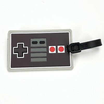 38e265139415 Classic NES Nintendo Controller Luggage Backpack Bag Tag - NEW