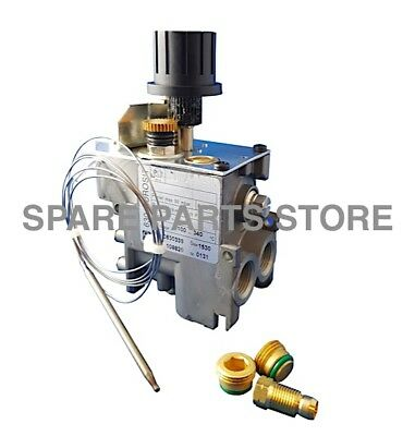 Eurosit 0.630.336 Main Oven Gas Control Valve Thermostat 100-340°C 0630336