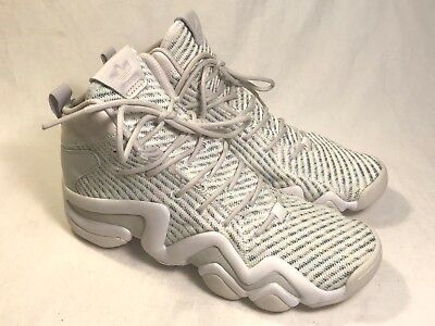 timeless design 36806 276cd Adidas Crazy 8 ADV CK White Multi-Color Knit Basketball Shoes Women 8.5