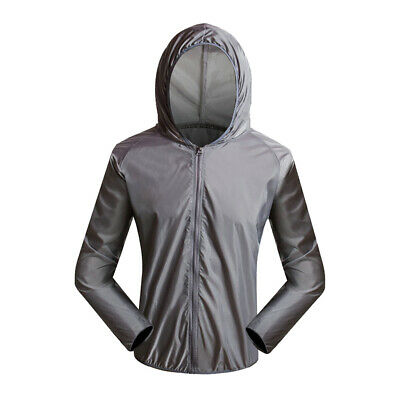 Bicycle Biking Cycling Jersey Rain Coat Windproof Jacket for Summer Spring