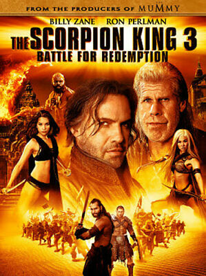 The Scorpion King 3: Battle for Redemption (DVD, 2012) - Brand New