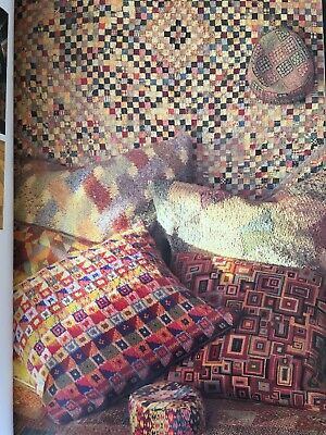 Kaffe Fassett - Glorious Interiors Knitting Needlepoint Decorative Design