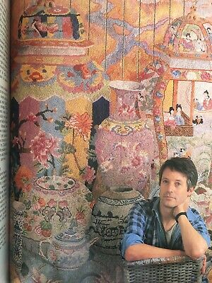 Kaffe Fassett - Glorious Needlepoint Extraordinary Stitchery Designs
