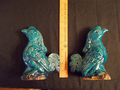 Antique Pair of Chinese Statues - 1800s