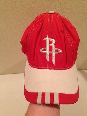 a29ee6d9c4b0f HOUSTON ROCKETS ADIDAS NBA Red Youth Fitted Flat Brim Hat Cap 6 1 2 ...