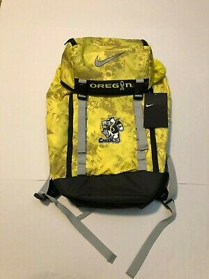9fb65f8d807c NWT Nike Doernbecher Stomp Out Cancer Backpack Oregon Ducks Rare Yellow New