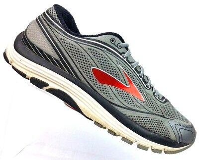 sports shoes 5bcc0 9121d BROOKS DYAD 9 Gray/Red Running Athletic Shoes Men's 9.5 D