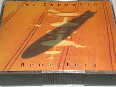 Led Zeppelin - Remasters - The Best Of on a 2 Disc Set CD Album