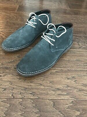 33f0277e4f3 KENNETH COLE REACTION Desert Wind Chukka Boots Boot Grey Suede Shoe Size 12