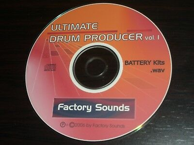"""ULTIMATE DRUM PRODUCER - WAV + BATTERY KITS: Loops/One-Shot/ - Complete 700MB"""""""