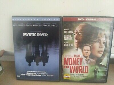 All The Money In The World DVD & Mystic River DVD