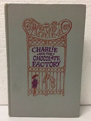 Charlie And The Chocolate Factory by Roald Dahl (Hardcover 1964) No DJ